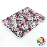 100*150 Cm Soft Cheap Suit Cotton Fabric Flower Pattern Spandex Fabric 100% Printed Cotton Fabric In Bulk Wholesale