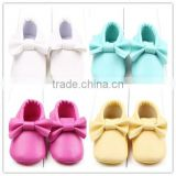 New arriven baby shoes in bulk manufactory wholesale baby shoes baby leather shoes made in China 2016