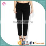 Custom New Design Cotton Twill Chino Casual Women Trouser Pants