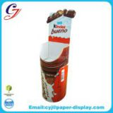 Kinder snack cardboard dump bin display