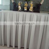 Table Skirt with pleats