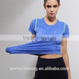 Summer Quick drying Outdoors Sports Yoga Fitness wear Compression Athletic Base Layer Shirt