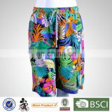 Top Quality Plus Size Pattern Printed Breathable Men Formal Beachwear