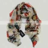 new arrival butterfly printed scarves