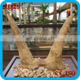 Museum High Simulation Artificial Fiberglass Dinosaur Bone For Sale