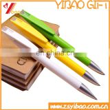 Customer logo pen plastic ball pen best selling ballpoint pen