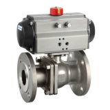 PNEUMATIC STAINLESS STEEL FLANGE BALL VALVE – BKVALVE