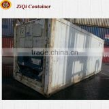 China supplier	20'/40'HC HQ	second-hand	reefer container	high standard	advantage prices	for sale in Liaoning