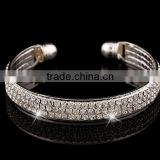 Diamond Bracelet full diamente Bangle new style Yiwu export to Braisl Pulsera de calidad