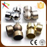 Metal Bay Curtain Rod/Shower Curtain Rod Corner Connection Pieces/Joint Connectors