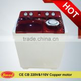 7-10KG home use semi automatic top load two tub washing machine