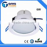 "Ra80 IP40 3"" 4"" 5"" 6"" 8"" 6w 15w 18w 20w COB Led Recessed Downlight SMD 2835"