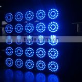 DMX Effect Auto Control System Stage LED Par Light 24x12W 6in1 RGBWA UV Slim LED flat par Light stage lighting