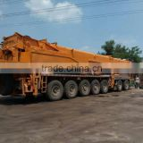 Demag 350t all terrain crane main boom 52m fly jib 22m engine power 590HP used demag 350t all terrain crane for sale