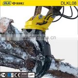 excavator logging Grapple Bucket hydraulic grapple rock grapple rotating grab made in China