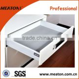 Top quality!! Factory made solf close full extension with wall drawer slide