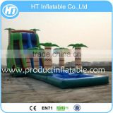 Commercial Double Lane Inflatable Water Slide Slip n Slide, Giant Inflat Slide For Kids And Adult