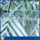 Chinese factory supply 2mm clear sheet glass for picture frames                                                                         Quality Choice