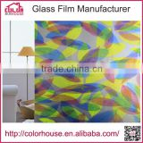 Self adhesive waterproof frosted pvc window film for glass