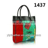 1437 Custom printed canvas tote bags,Canvas Tote Bag with Printing Picture,Factory Price