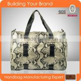 88286-New product for 2015,fashion python snake leather barrel handbag,lady tote handbag woman