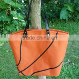 Wholesale Domil Basketball Tote Bags Large Basketball Sport Printing Handbags with Leather Handle
