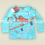 European and American style print letter kids shirt boys t-shirt children clothes