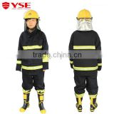 Fire safety suit anti-flame clothing fire fighting suit