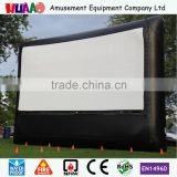 rear projection tv outdoor cinema inflatable movie screen for sale