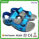 2016 new designs flat beach comfortable sandal