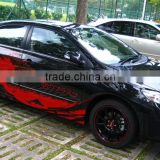 PVC Material matte black car wraps vinyl for Body Stickers