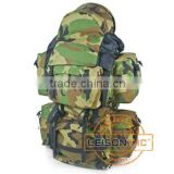 Military Backpack with 1000D high strength waterproof and flame retardant Cordura
