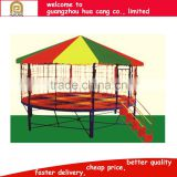 China newest design trampoline park Mini gymnastics trampolines for sale