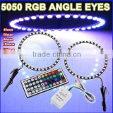 For X1 E84 LED Head Light U Angel Eyes For car angel eyes for bm