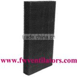 duck house newest inorganic evaporative cooling pad for air cooler or poultry farm / greenhouse