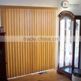 wood vertical blinds curtain track/blind cane