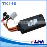 High quality sim card GSM Car GPS tracker tk116/listening devices