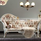 antique hand carved wood furniture - luxury royalty solid wood handcraft chaise lounge                                                                         Quality Choice