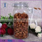 New Airtight Glass Canister / Jar With Lid Kitchen glass Container Storage                                                                         Quality Choice