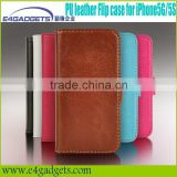 2013 New Hot book style case for iphone 5 case,case for iphone 5