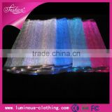 LED lighting fiber optical fabric nylon fabric for beach chair RGB changeable colors remote control