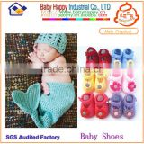 optional knitted baby shoes and knitted hat