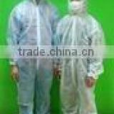 colorful pp nonwoven disposal workers' chemical protective coverall