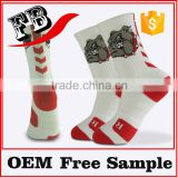 custom logo sports socks cushion sport elite sock men sport basketball socks                                                                         Quality Choice