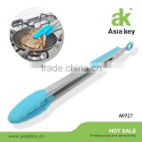 Stainless Steel Locking Tongs With Silicone Tips Silicone Tongs Serving Grill & Salad Tongs