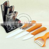 "Professional chefs and home cooks 3""+ 4""+ 5""+Peeler Kitchen Ceramic knife Set"