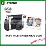Newest Fuji Fujifilm Instax 300 Wide Camera Black Instant Photo Polaroid Film
