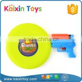 2 in 1 mini water gun plastic frisbee disc