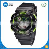DLW002/ Hot Sale Top Brand Candy Color Children LED Digital Watches Colorful Jelly LCD Movement Kids Sports