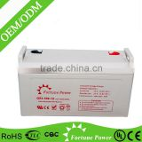 12v high quality gel battery pack for wind system 12v100ah
